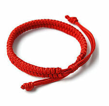 Chinese Red Simple Style Women&Men Hand Braided Lucky String Rope Cord Bracelet