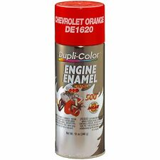 Duplicolor DE1620 Chevrolet Orange Motor Engine Spray Paint Aerosol 12oz.