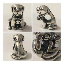 PANDORA MANS BEST FRIEND DOG CHARM REF 791379CZ S925 ALE DISCONTINUED