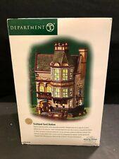 Dept 56 - Dickens Village - Scotland Yard Station - 58730 - Mib