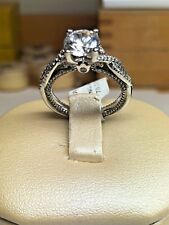 BRAND NEW Verragio ENG-0446 18K White Gold with Diamonds Engagement Ring