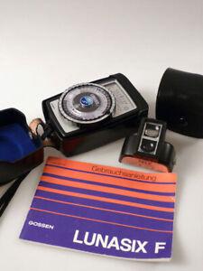 bi4/10 GOSSEN Lunasix F Belichtungsmesser  + Tele-Aufsatz