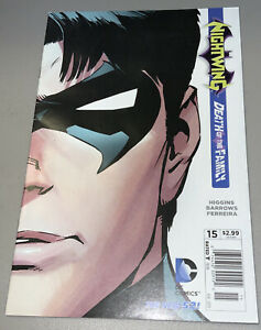Nightwing #15 1st Print DC New 52 Death of the Family Newsstand Variant