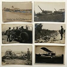 231 WORLD WAR I GERMAN SOLDIER'S POSTCARDS GERMANY, POLAND, RUSSIA.1917/18
