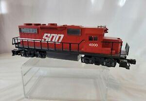 Vtg Lionel 6-18825 Soo Line GP-38-2 Diesel Locomotive No.4000 Engine Train