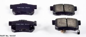 Rr Ceramic Brake Pads  Power Stop  16-537