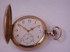 Traum Taschenuhr IWC um 1900 Gold 585