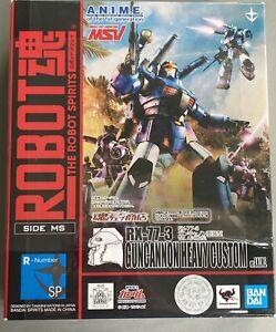 Bandai Robot Spirits Damashii Suit Gundam Guncannon Heavy Custom Action Figure