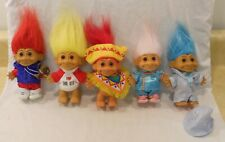 "Lot of 5 Vintage Russ trolls 5"" bb"