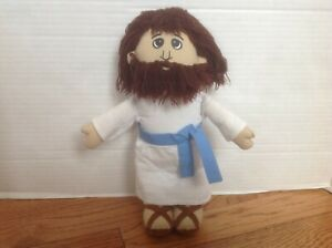 """Abbey Press JESUS Plush Doll 10"""" ~ RARE & Very Hard to Find ~ Darling!"""