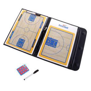 Basketball Coaching Board Tactical Board Dry Erase Coaches Clipboard