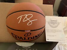 BEN SIMMONS Signed Autograph Official NBA Game Basketball UD Authentic Sixers