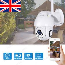 Wireless 1080P WIFI IP Camera CCTV PTZ HD Outdoor Home Security Pan Tilt UK