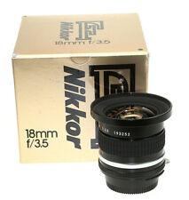 Nikon F Nikkor  3,5/18mm #193252  sehr guter Zustand