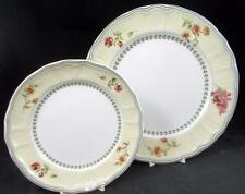 Epoch FLEUR de PROVENCE Dinner Plate + Salad Plate E135 GREAT VALUE