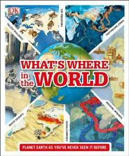 What's Where in the World by DK | Hardcover Book | 9781409379249 | NEW
