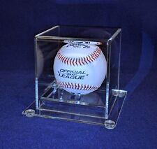 Clear Acrylic Baseball Display Case