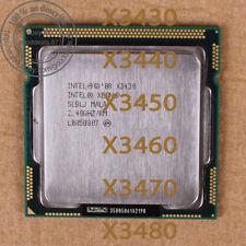 Intel Xeon X3430 X3440 X3450 X3460 X3470 X3480 LGA1156 Processor
