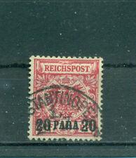 Gestempelte BPP-Signatur Briefmarken aus dem deutschen Auslandspostamt & Kolonien (bis 1945)