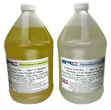 Color-Pro Clear Polyurethane Casting Resin Easy Colormatch 2 gallons