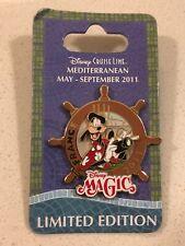 Disney Pin DCl Cruise Line Goofy Mediterranean France 2011 Wheel Le1000
