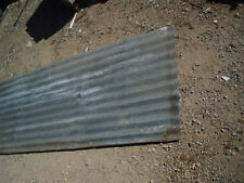 Secondhand corrugated iron $1.50 per foot sheets of