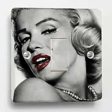 Marilyn Monroe Premium Light Switch Sticker to fit Crabtree 1-gang way CB 4070