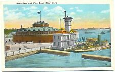 Pompiers, États-Unis, New York, Feu löschboot, environ 30er Ans