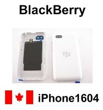 NEW  <WHITE> BLACKBERRY Q5 BATTERY DOOR BACK COVER REPLACEMENT PARTS CANADA