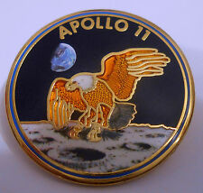 "Apollo 11 Lapel Pin Official NASA Edition ""The EAGLE Has Landed"" Buzz Armstrong"