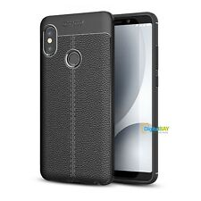 Custodia Cover Morbido Back Case Sottile Tpu Nero Per Xiaomi Redmi Note 5 Pro