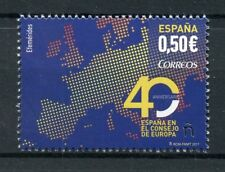 Spain 2017 MNH Spain in Council of Europe 40th Anniv 1v Set Politics Stamps