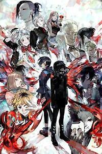 Tokyo Ghoul Manga Series Sui Ishida Japanese Anime TG06 POSTER BUY 2 GET 1 FREE