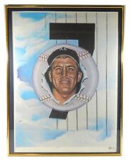 "1986 Mickey Mantle ""Rookie"" #24/95 Artist Proof by Robert Stephen Simon"