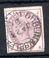 GB QV 1883 1 1/2d lilac SG189 used on piece Dublin CDS WS11182