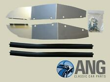 TRIUMPH TR4, TR4A, TR5, TR6 FRONT INNER WING BAFFLE PLATES, SEALS & FITTING KIT
