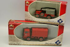 Solido 1/50 - Set of 2 Dodge and Renault Trm 2000 Firefighters