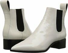 Loeffler Randall Nellie Leather Chelsea Boots, Women's Size 7, Stone
