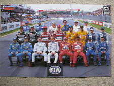 Centerfold Poster the class of 1999 (Formula 1)
