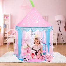 140cm Kinderzelt Babyzelt Spielhaus Spielzelt Prinzessin Spielhöhle Geschenk