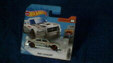 Hot Wheels - UK Card - #208 Dodge Charger Drift - Metallic White, Black & Red