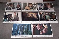 VAULT OF HORROR orig 1973 lobby card set TOM BAKER/GLYNIS JOHNS 11x14 posters