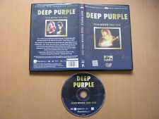 Deep Purple Rock Review 1969 -1972 Ritchie Blackmore Ian Gillan 72 min. DVD