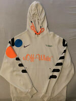 Off White Football Hoodie Large DEADSTOCK
