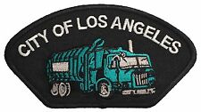 "City Of Los Angeles Sanitation Truck Patch Size 5""X3"""