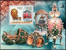 2012. Burundi. Faberge jewelry. MNH OG. Set with 27pcs luxury blocks.