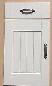 New kitchen cupboard doors FP Ivory shaker T&G Panel fit easily to most units