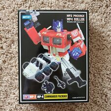 NEW MISB Transformers Masterpiece Optimus Prime MP-2 MP-4 Artist Package Roller