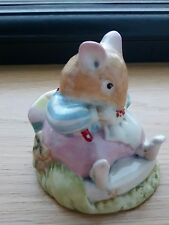 RARE ROYAL DOULTON BRAMBLY HEDGE FIGURE - MR TOADFLAX DBH 10 - 1980's in VGC