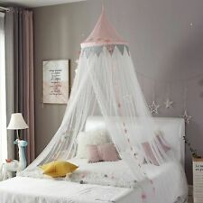 Baby Room Kid Bed Curtain Round Crib Netting Tent Decoration Girls Bedroom New